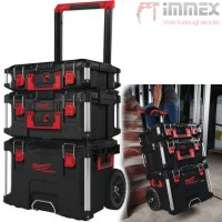 Milwaukee PACKOUT™ Koffer + Trolley Set