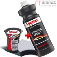 SONAX PROFILINE ActiFoam Energy Autoshampoo + Multischwamm 2in1