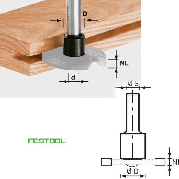 Festool Frässpindel Fräser S8 1,5-5 D14 499805 für OF 1010, OFK 700, MFK 700