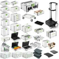 Festool Systainer Werkzeugkoffer Rollbrett Rollwagen TANOS PowerHub 1 2 3 4 5