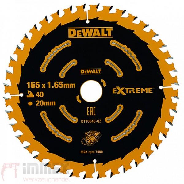 DeWALT Sägeblatt 165mm DT10640