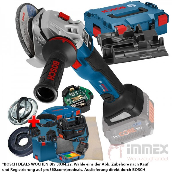 Bosch Akku-Winkelschleifer 18V GWS 18V-10 SC