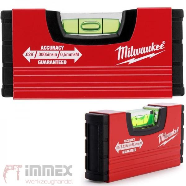 Milwaukee Wasserwaage 10cm Minibox