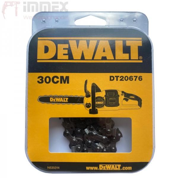 DeWALT Sägekette Ersatzkette 30cm DT20676