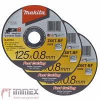Makita Trennscheiben Trennscheibe Winkelschleifer 3x 125x0,8mm INOX B-45733