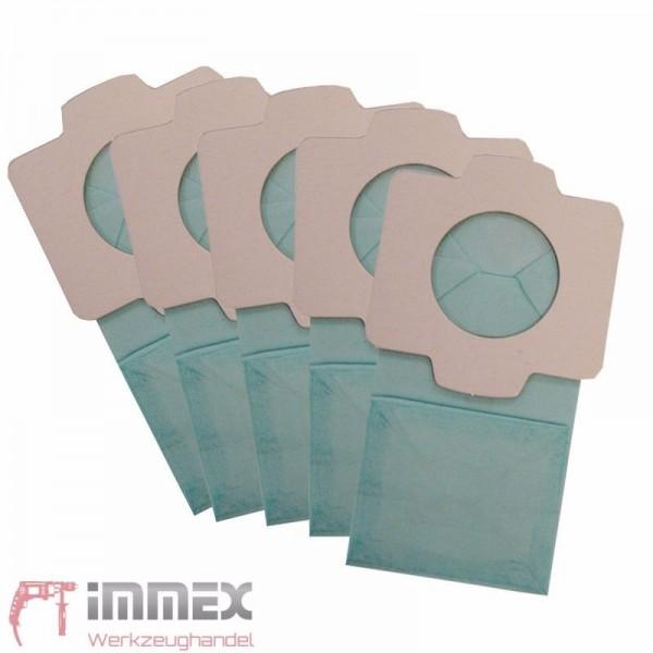 Makita 5x Papierfilter Filterbeutel für Akku-Staubsauger DCL182Z DCL182 DCL140Z