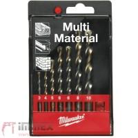 Milwaukee Multi-Material Rundschaftbohrer Set 7tlg.