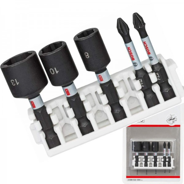Bosch Schrauberbit Steckschlüssel-Set 5-teilig