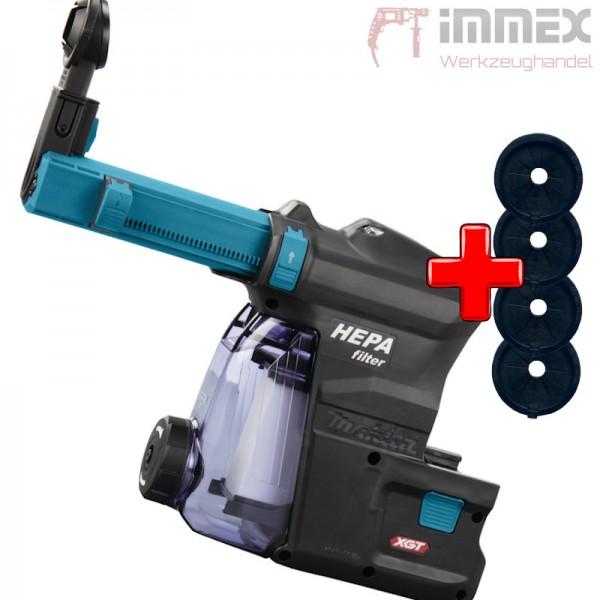 Makita Staubabsaugung DX14 191E60-4 für Akku-Bohrhammer Kombihammer HR004G