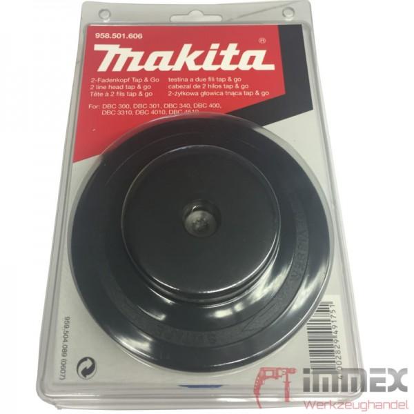 Makita Fadenkopf Mähfaden Sense Trimmer Tap&Go für EBH341U 958.501.606