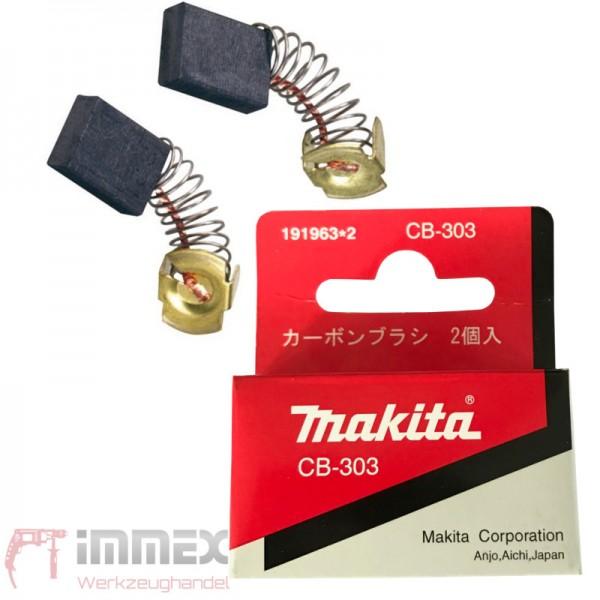 Makita Kohlebürsten CB-303 191963-2