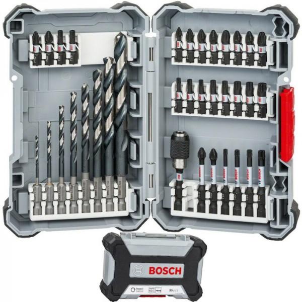 Bosch HSS-Bohrer Bit-Sortiment Set 35-teilig schlagfest
