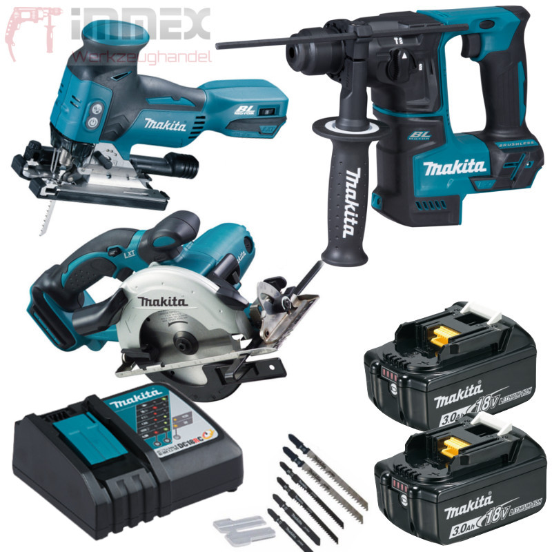 makita akku combo set 18v dhr171 djv181 dss501 sale. Black Bedroom Furniture Sets. Home Design Ideas