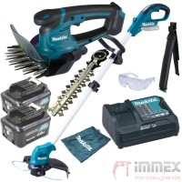 Makita Akku-Trimmer + Grasschere 10,8V UR100 UM600