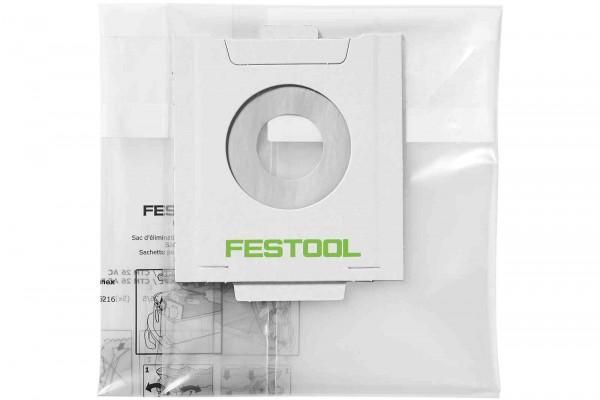 Festool Entsorgungssack Filterbeutel Filtersack ENS-CT 36 AC/5 496215
