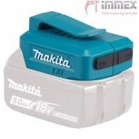 Makita ADP05 DEAADP05 Akku USB Ladeadapter Adapter für alle 14,4V - 18V  Akkus