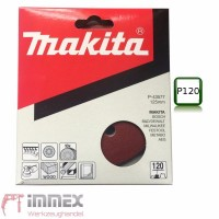 Makita Schleifscheiben 10x 125mm P120 P-43577