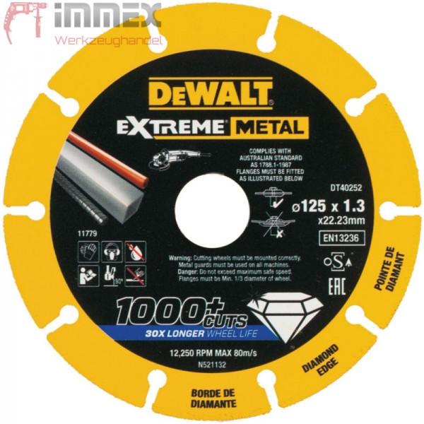 DeWALT Diamantscheibe 125mm DT40252