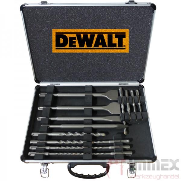DeWALT SDS-Plus Bohrer- Meißel-Set 12tlg.