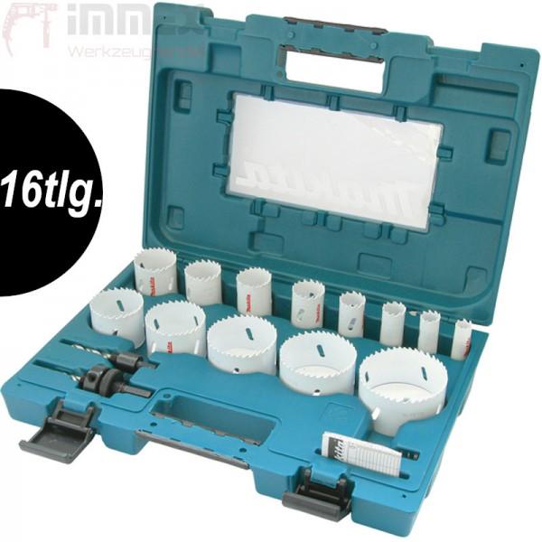 Makita BI-Metall Lochsägen-Set 16tlg. 16-76mm universal