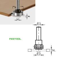 Festool Frässpindel Fräser S8 1,5-5 KL28 499804 für OF 1010, OFK 700, MFK 700