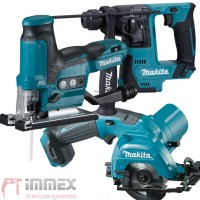 Makita Akku-Combo Set 10,8V HR140 HS301 JV102