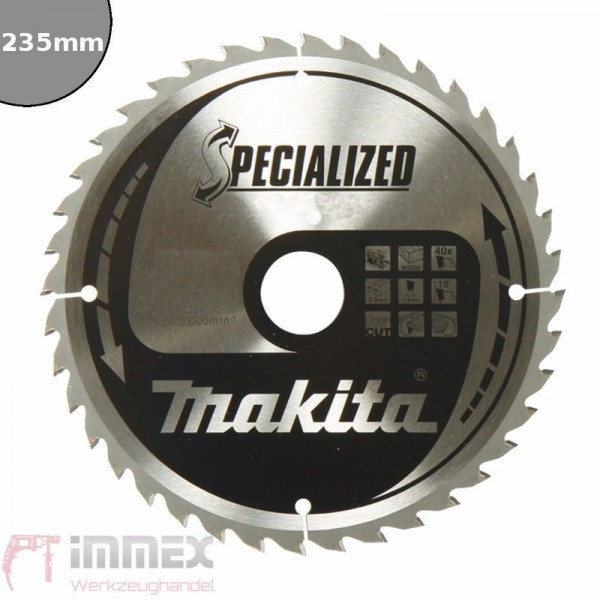 Makita Sägeblatt 235x30mm - 50 Zähne Panel B-33582