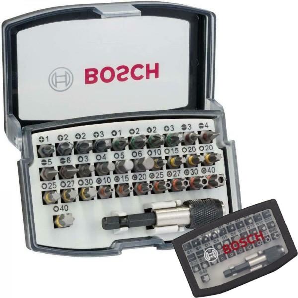 Bosch Bit-Sortiment 32-teilig Extra hart