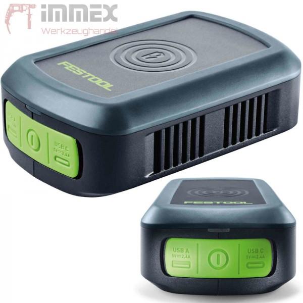 Festool Handy Ladestation PHC 18 577155 18V Powerbank kabellos oder USB