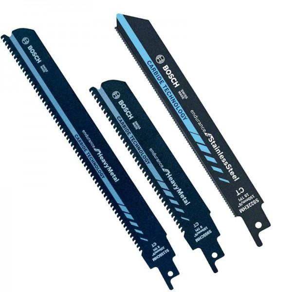 Bosch Reciprosägeblatt Säbelsägeblätter Carbide für Heavy Metall