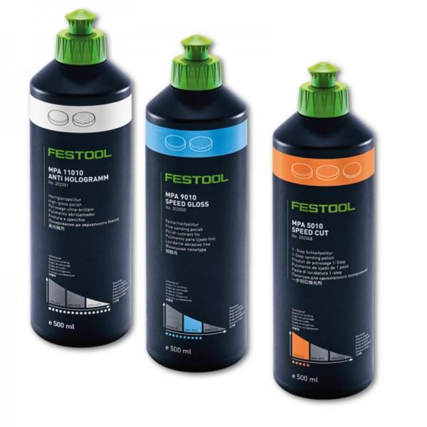 Festool Poliermittel MPA 11010, 5010, 9010 202051 202048 202050 Politur 500ml