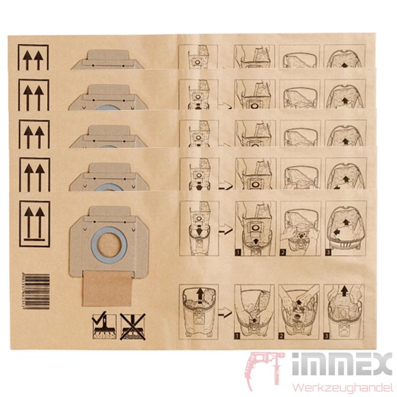 Makita Filtersack Staubsack Staubsaugerbeutel P 70194 5x F 446l