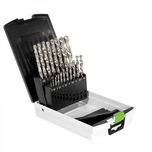 Festool Bohrerkasette 1-10mm HSS 19 tlg.